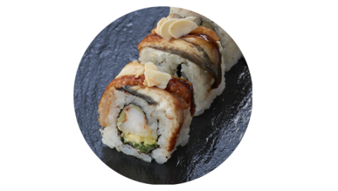 Dragon roll-web